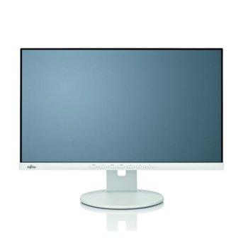 """Монитор Fujitsu B24-9 TE, EU, (S26361-K1647-V140) 23.8"""" (60.45 cm) IPS панел, Full HD, 5ms, 20,000,000:1, 250 cd/m2, DisplayPort, HDMI, VGA image"""