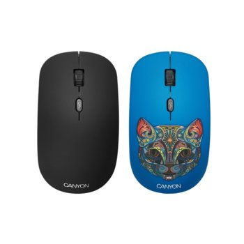 Canyon 2.4GHz wireless Optical Mouse Cat Cover product
