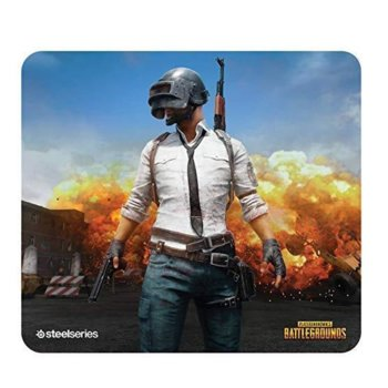 Подложка за мишка Steel Series QcK+ Limited PUBG Erangel Edition, гейминг, 450 x 400 x 4mm image