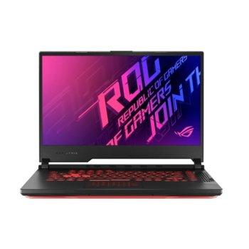 "Лаптоп Asus ROG Strix G15 G512LI-AL013 (90NR0381-M00450), четириядрен Comet Lake Intel Core i5-10300H 2.5/4.5 GHz, 15.6"" (39.62 cm) Full HD 144Hz IPS Anti-Glare Display & GF GTX 1650 Ti 4GB, (HDMI), 8GB DDR4, 512GB SSD, 1x USB 3.2 Type C, No OS image"