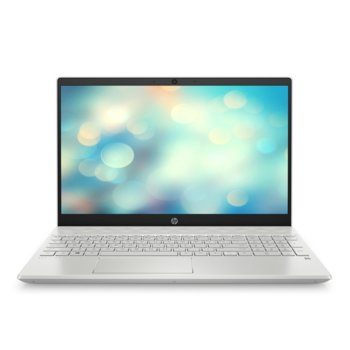 "Лаптоп HP Pavilion 15-cs3007nu (8XP31EA)(бял) с подарък HP слушалки 500 и мишка X3500, четириядрен Ice Lake Intel Core i5-1035G1 1.0/3.6 GHz, 15.6"" (39.62 cm) FHD IPS Display & GF MX130 2GB, (HDMI), 8GB DDR4, 256GB SSD, 1x USB 3.1 Type C, Free DOS image"