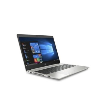"Лаптоп HP ProBook 450 G7 (9HP84EA)(сребрист), четириядрен Comet Lake Intel Core i7-10510U 1.8/4.9 GHz, 15.6"" (39.62 cm) Full HD Anti-Glare Display, (HDMI), 16GB DDR4, 512GB SSD, 1x USB 3.1 Type-C, Windows 10 Pro, 2.0 kg image"