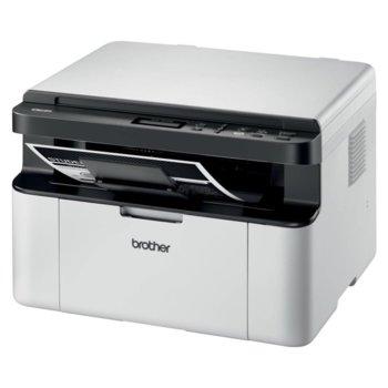 Мултифункционално лазерно устройство Brother DCP-1610WE, монохромен, принтер/копир/скенер, 2400x600 dpi, до 20стр/мин, WiFi, USB, A4 image