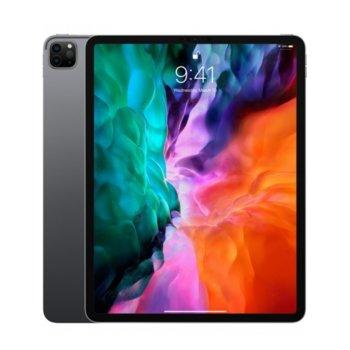 """Таблет Apple iPad Pro (4th Generation)(MXF72HC/A)(Space Grey), 4G/LTE, 12.9"""" (32.76 cm) Liquid Retina дисплей, осемядрен Apple A12Z Bionic, 6GB RAM, 512GB Flash памет, 12.0 + 10.0 MPix & 7.0 MPix камера, iPad OS, 643g image"""