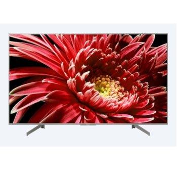"Телевизор Sony Bravia KD-55XG8577, 55"" (139.7 cm) 4K ULTRA HD Smart LED, Full Array, HDR 10+, DVB-T2/C/S2 x 2, Wi-Fi, 4x HDMI, 3x USB, сребрист image"