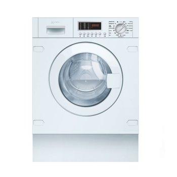 Пералня със сушилня Neff V6540X1EU, клас B, 7 кг. капацитет на пералня, 4 кг. капацитет на сушене, 1400 оборота, свободностояща, за вграждане, 60cm. ширина, бяла image