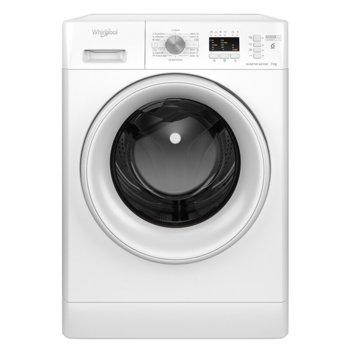 Пералня Whirlpool FFL 6238W EE, A+++, 6kg, 1200 обороти в мин, 15 програми, свободностояща, 60см ширина, бял image
