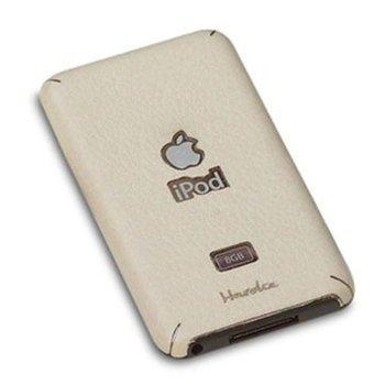 Страничен протектор HardCE iMAT II, бежов, кожен (естествена кожа), за iPod Touch 2/3 + скрийн протектор и кърпичка за почистване image