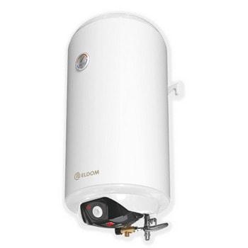 Електрически бойлер Елдом SV08044TF, 80L, вертикален, 3 kW, емайлиран, енергийна ефективност C, 43,5 x 82,5 x 45,7 см, силна антибактериална защита image