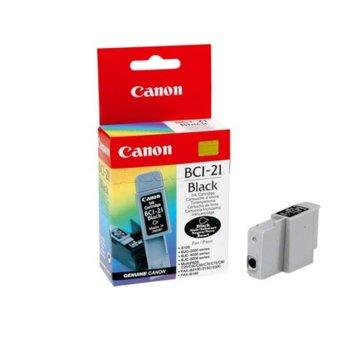 ГЛАВА CANON S100/BJC-2000/4000/5000 series/MultiPASS C20/30/50/70 - Black - BCI-21 - заб.: 1x9ml. image