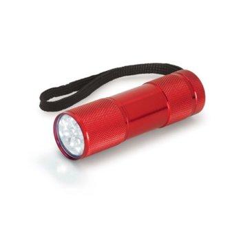 Фенер OEM, 9 LED светлини, червен image