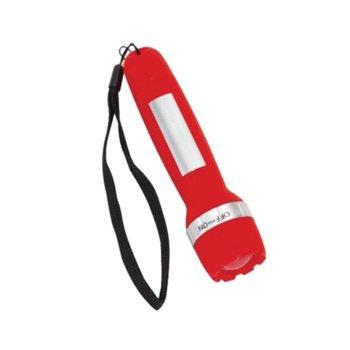 Фенер TOPS Charge Light, презареждаема 40 mAh батерия, червен image