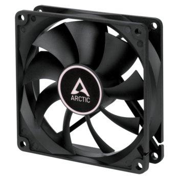 Вентилатор 92 mm, Arctic F9 Black (ACFAN00212A), 3-pin, 1800 rpm, черен image
