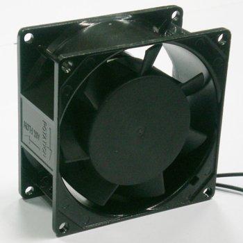 Вентилатор 80мм, EverCool EC8038A2HBL, 220V 2 ball bearing 2300rpm image