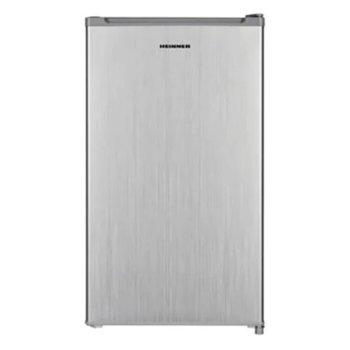Хладилник Heinner HF-100NHSF+, клас F, 93 л. общ обем, свободностоящ, 107 kWh/годишно, регулируем термостат, LED светлина, инокс image