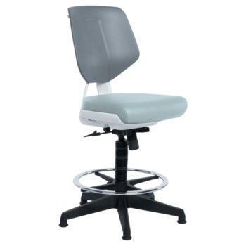 Работен офис стол LAB LUX - сив SIL 3520794_2 product