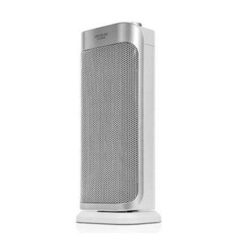 Вентилаторна печка Cecotec Ready Warm 6250 Ceramic Sky Style, 2000 W, 3 режима на работа, сребрист image
