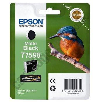 Касета за Epson Stylus Photo R2000 - Matte Black - T1598- P№ C13T15984010, 17ml image