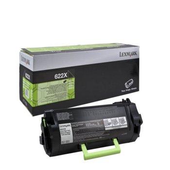 Laser Toner Lexmark for MX711de/MX711dhe/MX810dfe/MX810dme/MX810dxfe/MX810dxme/MX811dfe/MX811dme/MX811dxfe/MX811dxme/MX812dfe/MX812dme/MX812dxfe/MX812dxme - 45 000 pages Black image