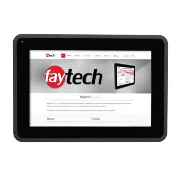 """Индустриален монитор Faytech 1010501876 FT101TMBCAPOB-V2, 10.1"""" (25.65 cm) WXGA Touchscreen, HDMI, DVI-D, VGA image"""