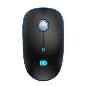 Мишка D V8B, оптична(1200dpi), безжична, Bluetooth, черна image