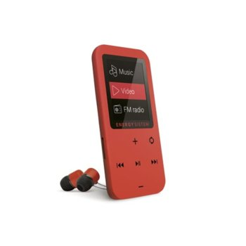 MP4 Плейър Energy MP4 Touch Coral 8GB image