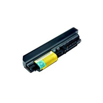 Батерия (заместител) за лаптоп IBM, съвместимa с модели Thinkpad R61 T61 R400 T400, 6 cells, 10.8V, 4400mAh image