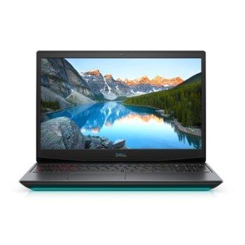 "Лаптоп Dell G5 15 5500 (5397184443934), шестядрен Comet Lake Intel Core i7-10750H 2.6/5.0 GHz, 15.6"" (39.62 cm) Full HD IPS 300nit 120Hz Display & GF GTX 1660 Ti 6GB, (mDP), 16GB DDR4, 512GB SSD, 1x Thunderbolt 3, Windows 10 Home  image"