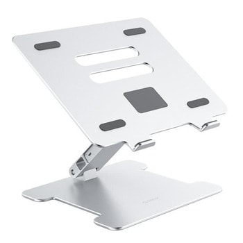 """Стойка за лаптоп Orico LST-4A-SV, до 15.6"""", с USB хъб, сребриста image"""