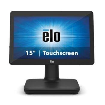 "All in One компютър Elo EPS15E3-2UWA-1-MT-4G-1S-W1-64-BK, четириядрен Intel Core i3-8100T 3.1 GHz, 15.6"" (39.624 cm) HD LED Capacitive Multi Touch Display, 4GB DDR4, 128GB SSD, USB-C, Windows 10 image"
