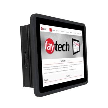 """Индустриален компютър Faytech 1010501618 FT08N4200CAPOB, четирияден Apollo Lake Intel Pentium N4200 1.1/2.5 GHz, 8"""" (20.32 cm) HD Touchscreen Display, 4GB, 128GB SSD, 2x USB 3.0, Linux image"""
