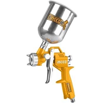 Пистолет за боядисване за компресор с горно казанче INGCO ASG4041 image