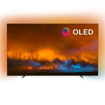 """Телевизор Philips 55OLED804/12, 55"""" (139.7 cm) OLED 4K SMART TV, DVB-T/T2/T2-HD/C/S/S2, Wi-Fi, Bluetooth, LAN, 4x HDMI, 2x USB image"""