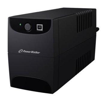 UPS Powerwalker VI 850SE VA UPS, 850VA/480W, Line Interactive  image