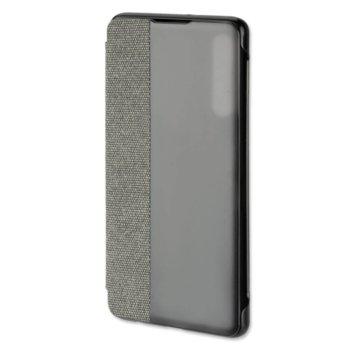 Калъф за Huawei P30, 4Smarts Smart Cover 4S467469, тъмносив image