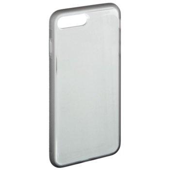 Калъф за Apple iPhone 7 Plus/8 Plus, поликарбонат, Hama Sticky, сив image