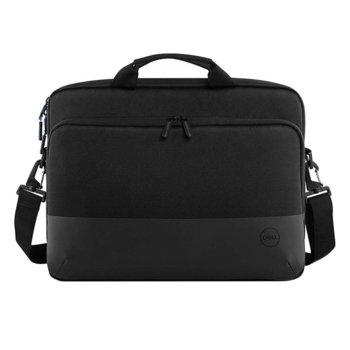 "Чанта за лаптоп Dell Pro Slim Briefcase 15 (PO1520CS), до 15.6"" (39.6 cm), отделение за таблет, черна image"
