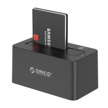"""Докинг станция Orico 6619US3-BK за 3,5"""" и 2,5"""" HDD и SSD устройства, USB 3.0  image"""