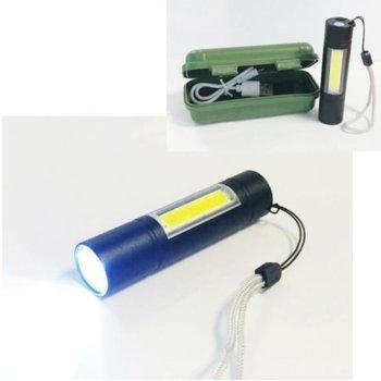 Фенер 510 Mini 2 LEDS BAT Black, черен image