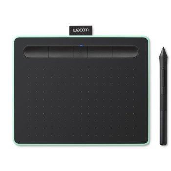 Графичен таблет Wacom Intuos M Bluetooth Pistachio (зелен)(CTL-6100WLE-N) image