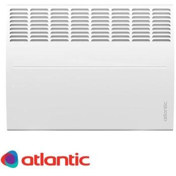 Конвектор Atlantic F119 DESING, oтопляема площ 27 м², електронен термостат, включени в комплекта крачета за подов монтаж, kласическо механично управление с градусна скала, автоматична защита от прегряване и изключване при падане, 2500W, бял image