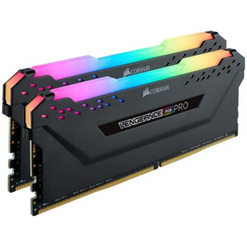 Памет 16GB (2x 8GB) DDR4 3200MHz, Corsair Vengeance RGB Pro, CMW16GX4M2C3200C16, 1.2V image