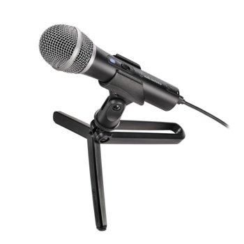 Микрофон Audio-Technica ATR2100x-USB, динамичен кардиоиден, 50–15,000 Hz, USB Type C/XLR конектори, черен image
