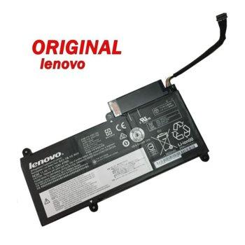 Батерия (оригинална) за Lenovo съвместима с ThinkPad E450 E450c E455 E460 E460c 45N1755, 11.4V, 47Wh, 6 клетъчна Li-ion image