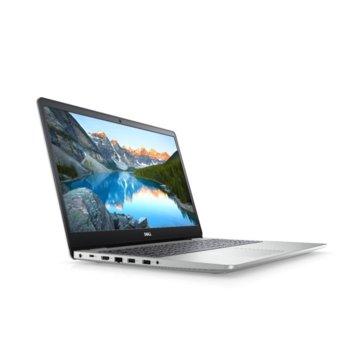 "Лаптоп Dell Inspiron 5593 (5397184312698)(сребрист), четириядрен Ice Lake Intel Core i7-1065G7 1.3/3.9 GHz, 15.6"" (39.62 cm) Full HD Anti-Glare Display & GF MX230 4GB, (HDMI), 8GB DDR4, 512GB SSD, 2x USB 3.1, Linux image"