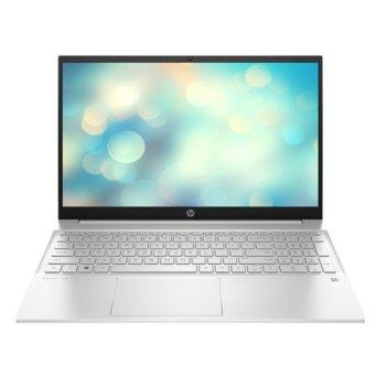 "Лаптоп HP Pavilion 15-eh0038nu (33H52EA_16GB), шестядрен AMD Ryzen 5 4500U 2.3/4.0GHz, 15.6"" (39.62 cm) Full HD Anti-Glare Display (HDMI), 16GB DDR4 3200MHz, 512GB NVMe SSD, 1x USB 3.2 (Gen 2x1, Type-C), FreeDOS, 1.75kg image"