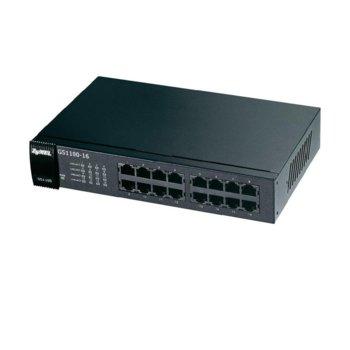 Суич ZyXEL GS1100-16, 1000 Mbps, 16Port image