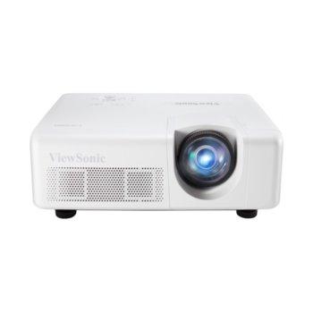 Проектор ViewSonic LS625W, DLP, WXGA (1280x800), 3000000:1, 3200 lm, HDMI, VGA, USB, RS232, RJ-45 image