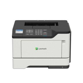 Лазерен принтер Lexmark MS521dn A4, монохромен, 1200 x 1200 dpi, 44 стр/мин, LAN1000, USB, A4 image
