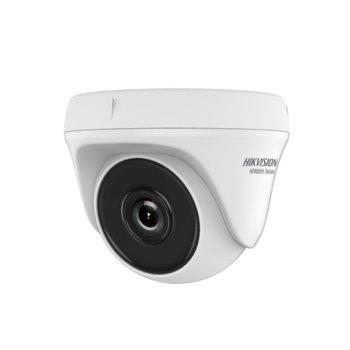 HDCVI камера HikVision HWT-T120-P, куполна камера, 2MPix(1920x1080@25fps), 2.8/3.6/6 mm, IR осветеност (до 20 m) image